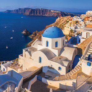 EuroGraphics Santorini Greece 1000-Piece Puzzle